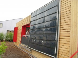 Solar Decathlon 2014 - Rhome PV Wall