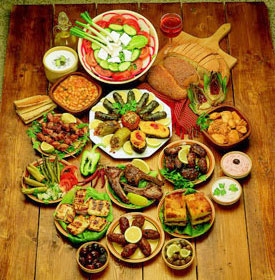 cuisine traditionnelle grecque