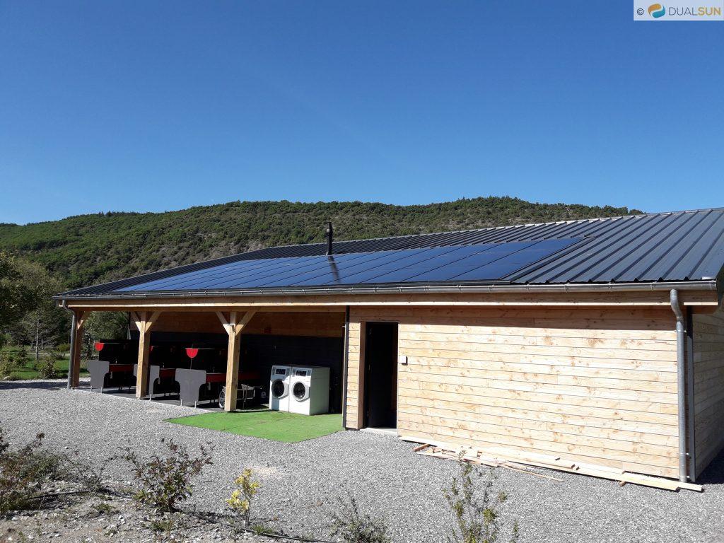 panneau solaire camping autonome france