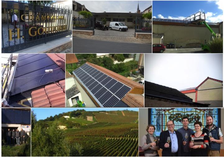Panneaux solaires et champagne goutorbe dualsun for Recyclage des panneaux solaires