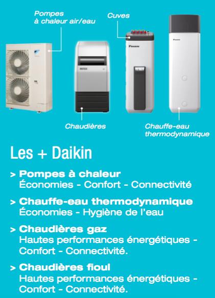 DualSun - Daikin - Echo2 Sun - materiel Daikin