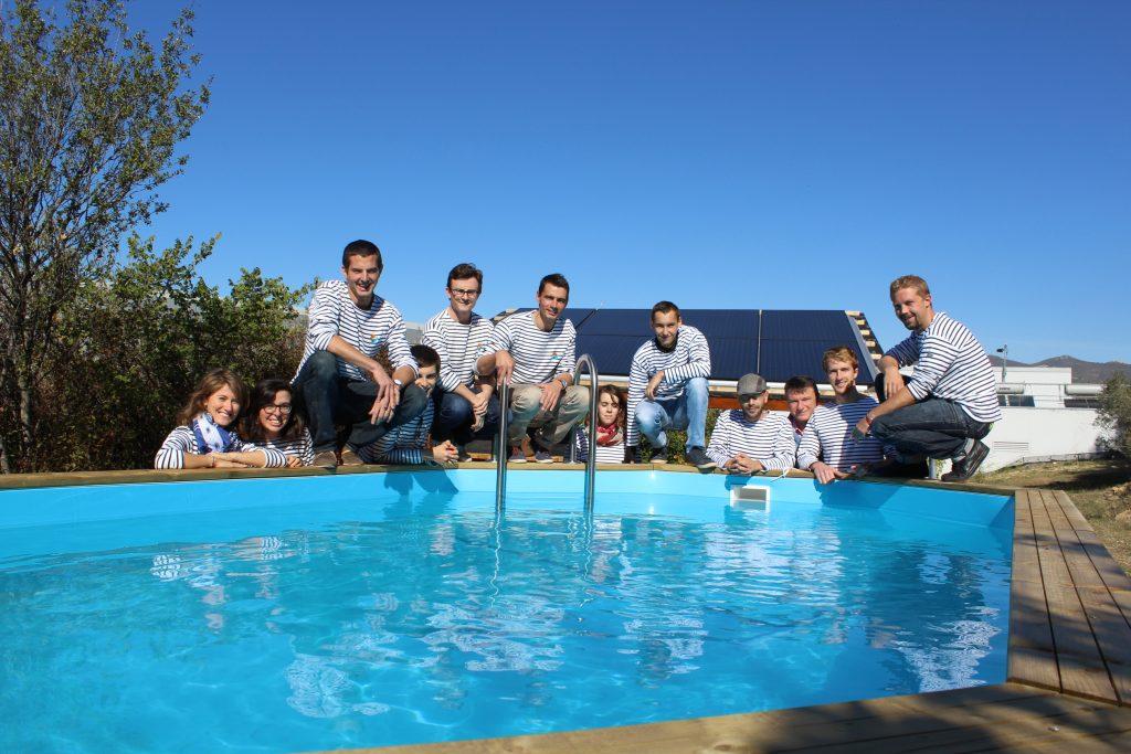 Equipe DualSun piscine solaire