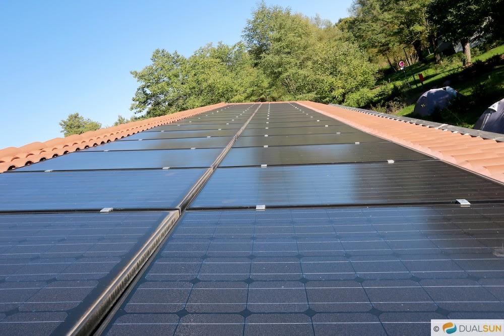camping panneau solaire