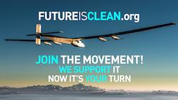 Futureisclean par Solar Impulse