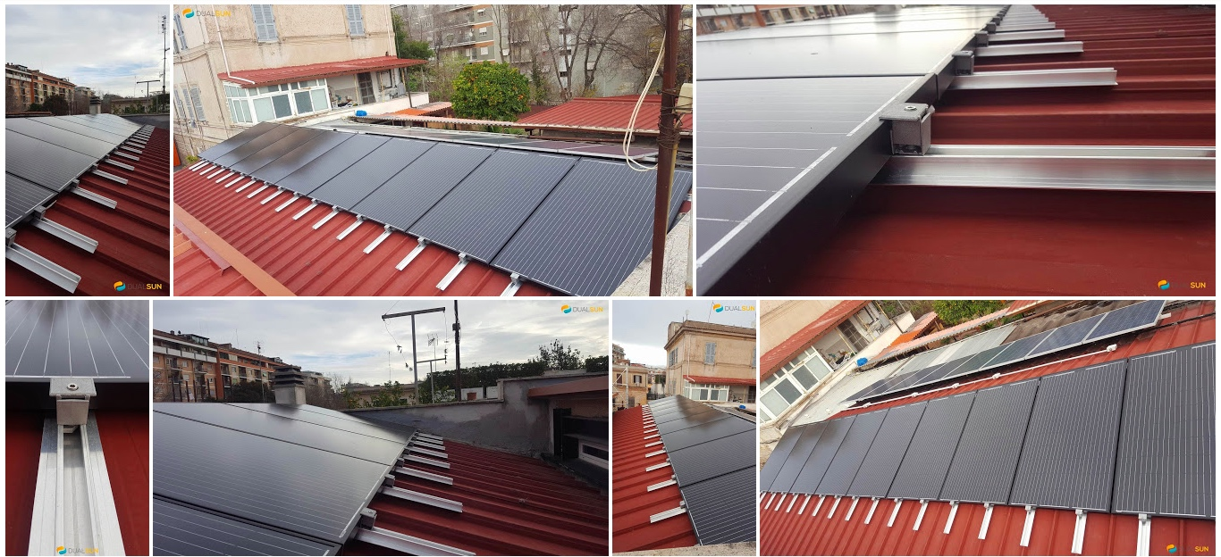 tecnologia DualSun pannelli solari