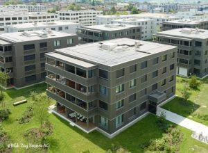 panneau hybride immeuble allemagne